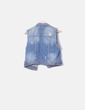 Chaleco denim ripped Bershka