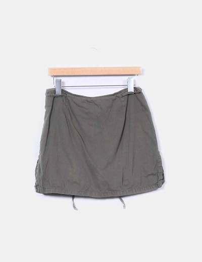 Falda pantalón khaki Easy Wear