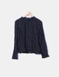 Blusa de cuadros Zara
