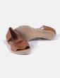 Sandalia marrón de cuero Vialis