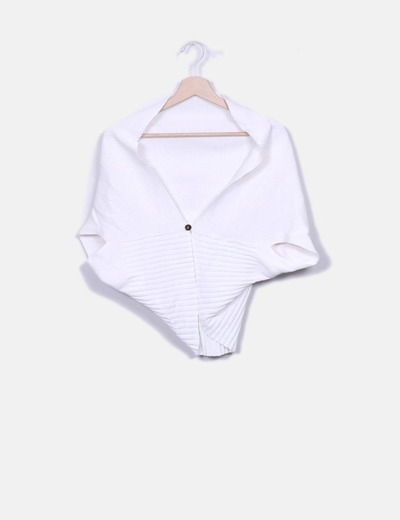 Jersey blanco de punto Ada Gatti