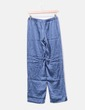 Conjunto pijama seda azul La Perla