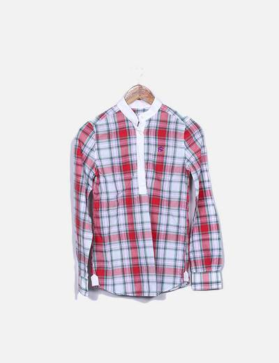 Camisas cuadros rojos Montepicaza