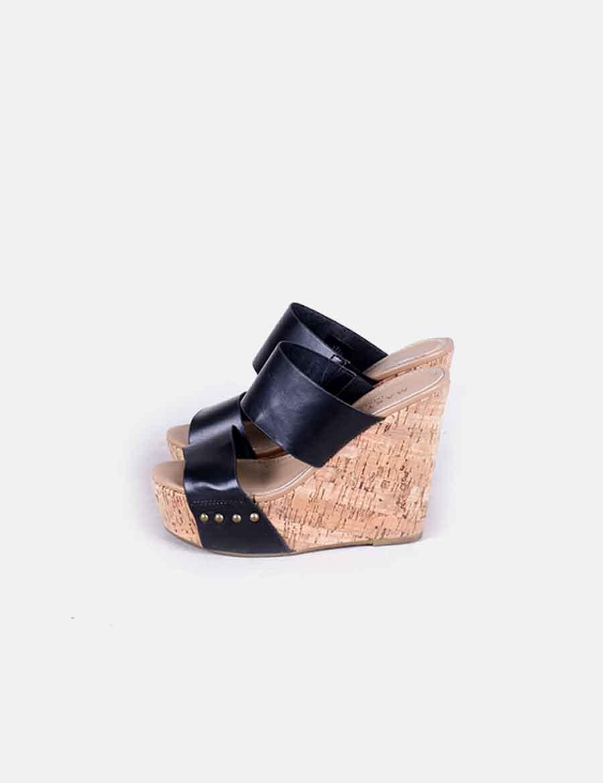 Cuña Negra Zapatos heartfelt Huxh7poq Marypaz De wiz Mujer 1ndSSwUx7R