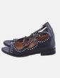Sandalia negra con tachas blocco 31