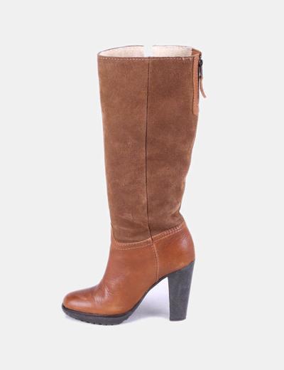 Boot avec peau de mouton Mango