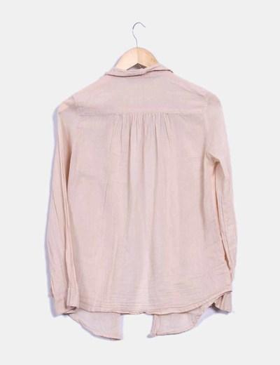 Blusa color nude