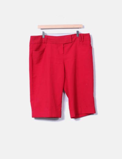 Pantalón rojo pirata Primark