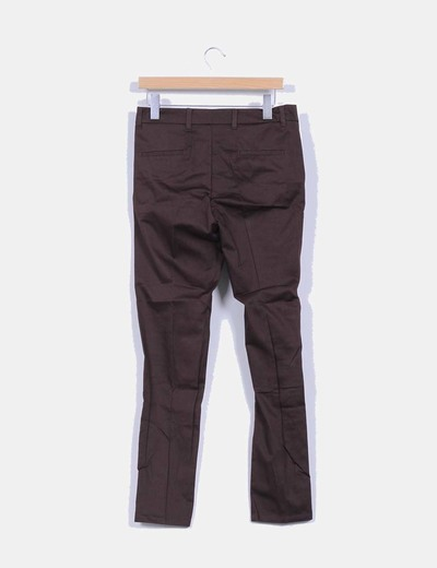 Pantalon marron de vestir