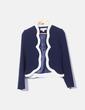 Conjunto de short y chaqueta azul marino Paper Dolls