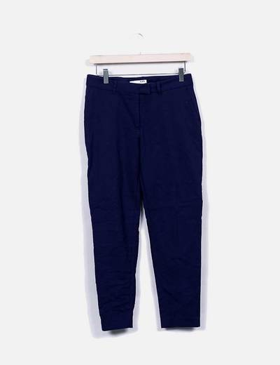 Pantalón tobillero azul LH