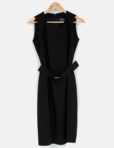 Calvin Klein Vestido preto ck (desconto de 85%) - Micolet d9448929bd