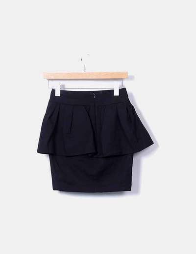 Zara Mini saia plissada preta (desconto de 54%) - Micolet cc6b3e0de6