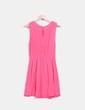 Vestido rosa fucsia bordado Green Coast