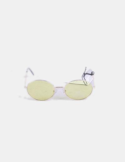 Asos Óculos de sol redondos amarelos lentes (desconto de 61%) - Micolet 2cbd09979e