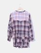 Vestido de cuadros manga larga Isabel Marant