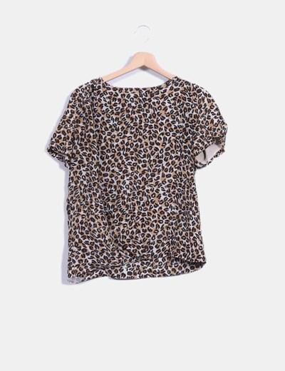 Blusa print leopardo Bimba&Lola