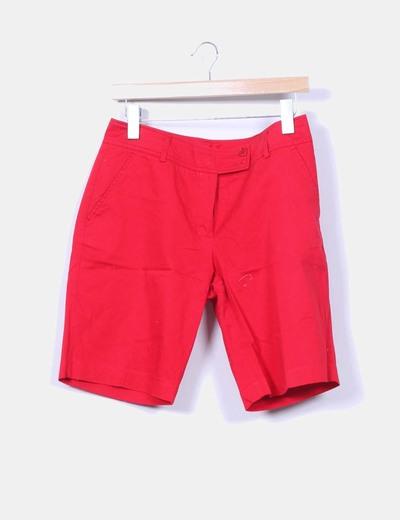 Bermuda roja Cloche