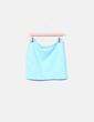 Falda tubo azul H&M