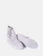 Bota antelina gris tacón corrido Tamaris