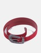Cinturón rojo hebilla NoName