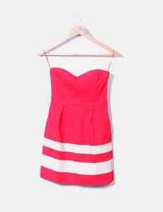 Mango Robe rouge bustier (réduction 88%) - Micolet 77d806cefe7e
