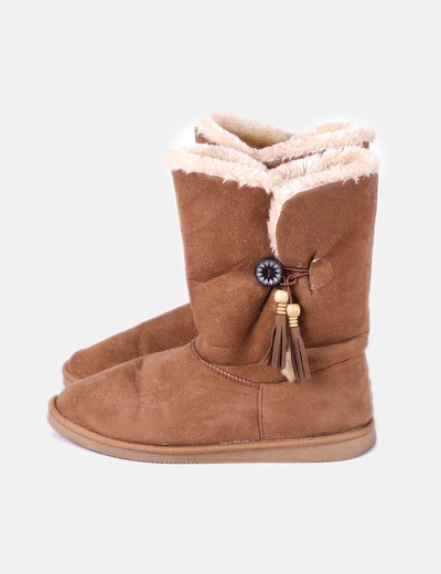 Boot eskimo marron Suiteblanco