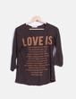 Camiseta marrón print  Lefties