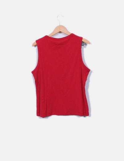 8104a286bdb Kiabi Top rojo tirantes (descuento 83%) - Micolet