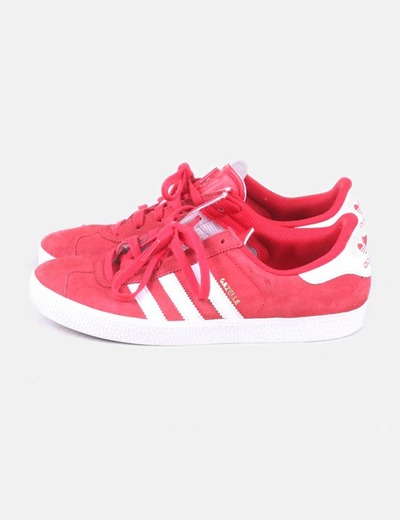 new product 6920b eaacc Adidas Red gazelle shoes (discount 67%) - Micolet