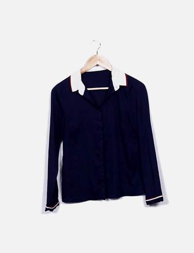 Camisa azul marino See U Soon