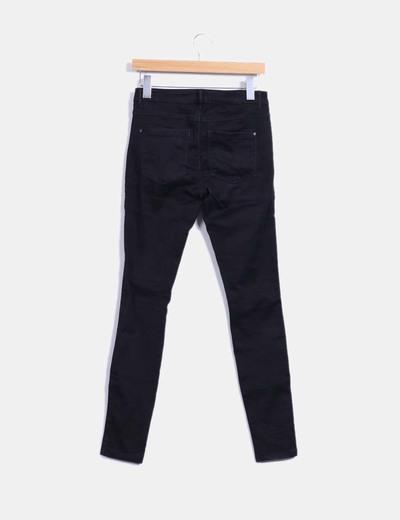 Pantalon elastico negro