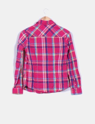 Camisa multicolor de cuadros