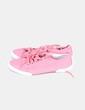 Zapatillas rosas detalle agujeros  Venca