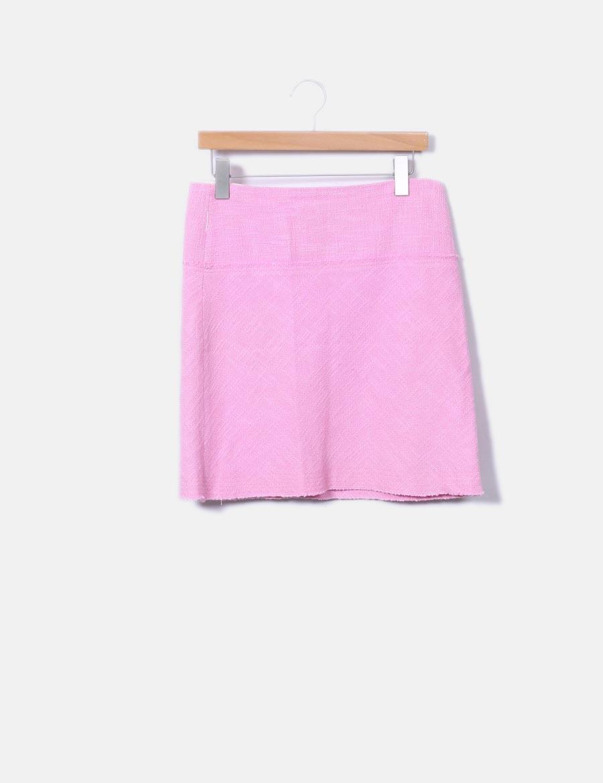 c3e7216b7 Faldas Zara online baratas tricot rosa Falda B81qwYaZx |bury ...