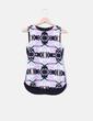 Blusa manga sisa delantera floral  H&M