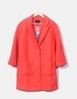 Abrigo rojo de paño Cache Cache