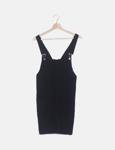 Pichi tricot negro