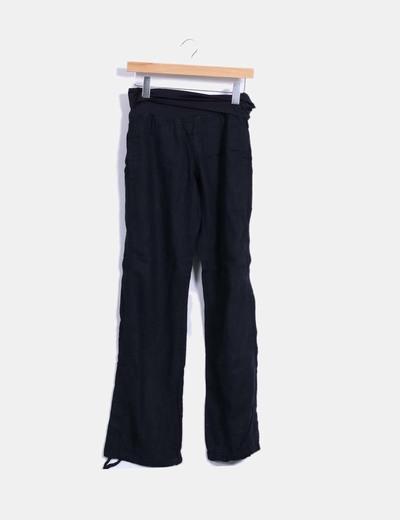 Pantalon noir droit Mamalicious