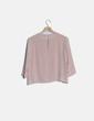 Blusa rosa cruzada Bershka