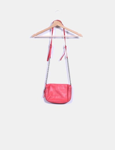 Bolso color coral