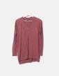Brown tricot sweater Mango
