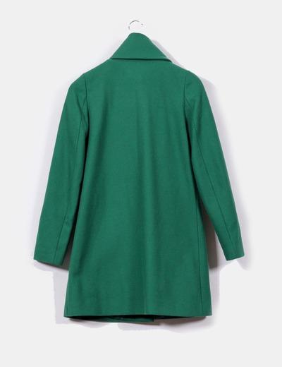 Benetton Abrigo verde intenso (descuento 59%) - Micolet 37b54b318e43