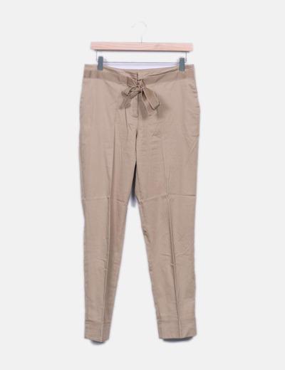 Pantalon beige Purificación García