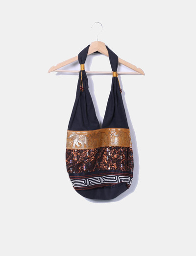 Shopper de tela étnico NoName
