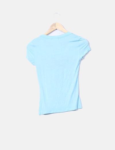 Camiseta verde claro