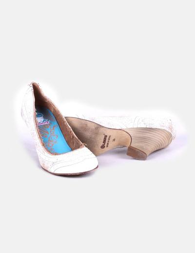 Zapatos texturizados de tacon