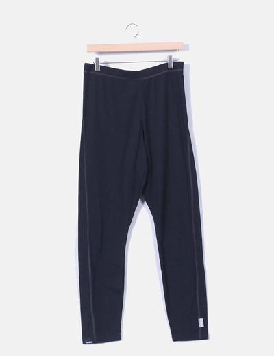 Pantalón sport negro Oxylane