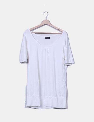 Camiseta blanca oversize ONLY