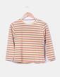 Camiseta rayas multicolor manga larga Creché